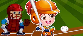 Baby Hazel Baseball
