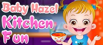 Baby Hazel Kitchen