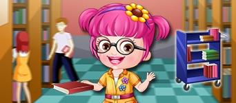 Baby Hazel Librarian