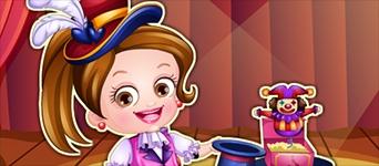 Baby Hazel Magician