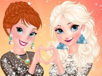 Anna And Elsa Girls Night Out
