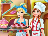 Anna Cinderella Cupcakes Factory