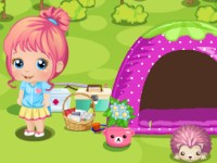 Baby Alice Camping