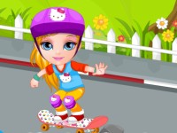 Baby Barbie Skateboard Accident