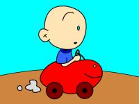 Baby Car Coloring