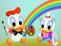 Baby Donald And Daisy