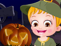 Baby Hazel Halloween Night