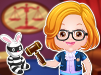 Baby Hazel Lawyer Dressup