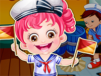 Baby Hazel Sailor Dressup
