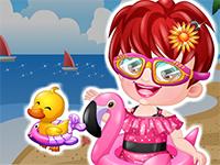 Baby Hazel Swimmer Dressup