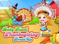 Baby Hazel Thanksgiving Dressup