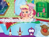 Babyboo Christmas Bath