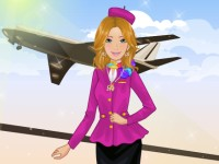 Barbie Airline Hostess