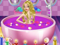 Barbie At The Super Spa