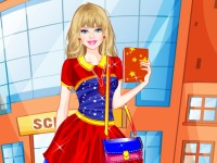Barbie College Student Dressup