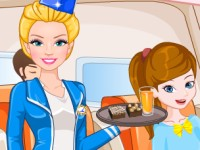Barbie Flight Attendant In Paris