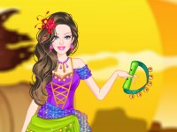 Barbie Gipsy Princess Dress Up