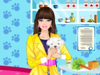 Barbie Pet Doctor Dressup