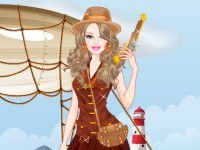 Barbie Treasure Hunter Princess Dressup