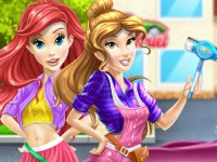 Belle And Ariel Car Wash