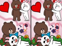 Brown Cony Line Love