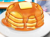 Cooking Breakfast Pancake