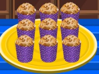 Crumb Topped Banana Muffins