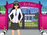 Cute School Girl Makeover
