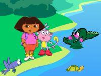 Dora Crocodile Lake Adventure