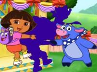 Dora Shadow Puzzle