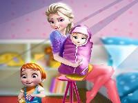 Elsa And Newborn Baby