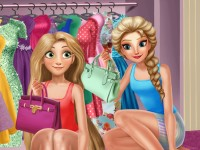 Elsa And Rapunzel Dressing Room