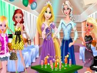Elsa And Rapunzel Party