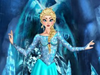 Elsa Dressup And Hairstyle