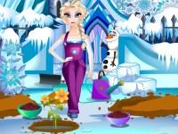 Elsa Ice Garden