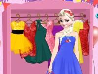 Elsa Summer Prom