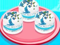 Elsas Frozen Macarons