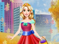 Fall Princess Dress Up