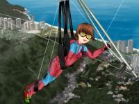 Hanggliding Girl