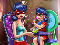 Ladybug Mommy Toddler Feed