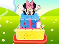 Minnie Mouse Surprise Cake