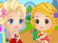 Modern Chibi Princesses