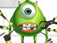 Monster Eye Tooth Problems