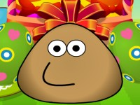 Pou Easter Egg Decoration