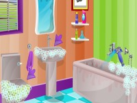 Pregnant Draculaura Bathroom Cleaning
