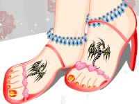 Pretty Pedicure Design 2
