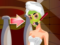 Princess Jasmine Facial Makeover