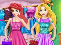 Princesses Shopping Time