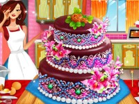 Realistic Wedding Cake Decoration