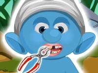 Smurf At Dentist